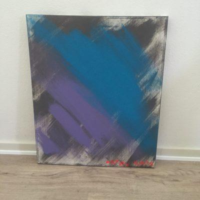 Maleri 50X60 cm (tåge)